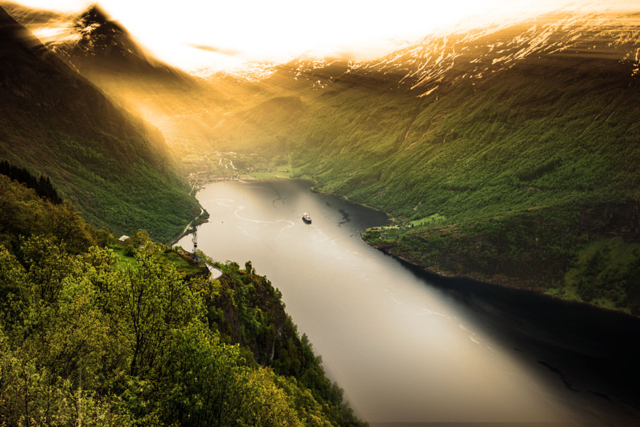 Geirangerfjord by Frank Eiche on 500px.com
