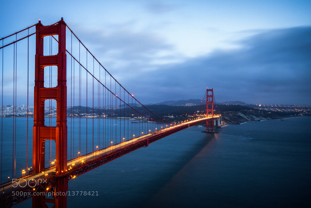 Photograph Golden Gate Bridge – San Francisco, California by David Delgado on 500px