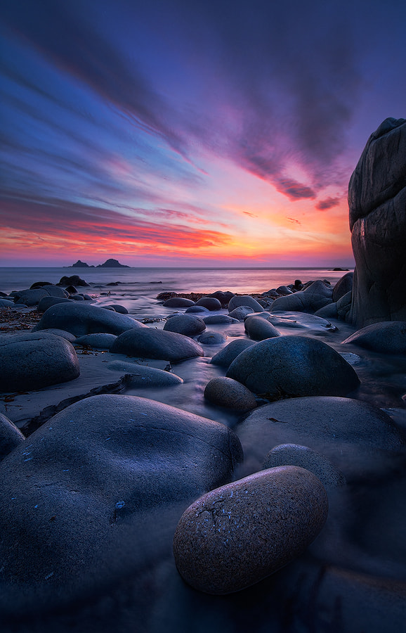 Photograph Cornish Twilight by Louis Neville on 500px