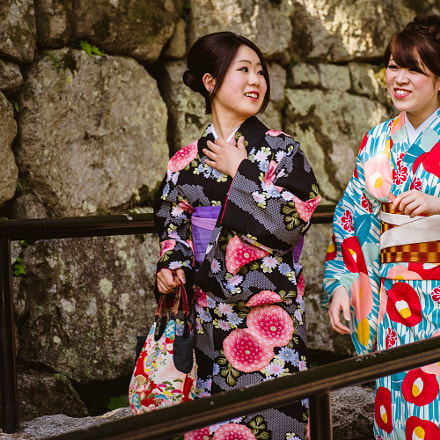 Japanese girls in kimono, Sony SLT-A99, Tamron SP 70-300mm F4-5.6 Di USD