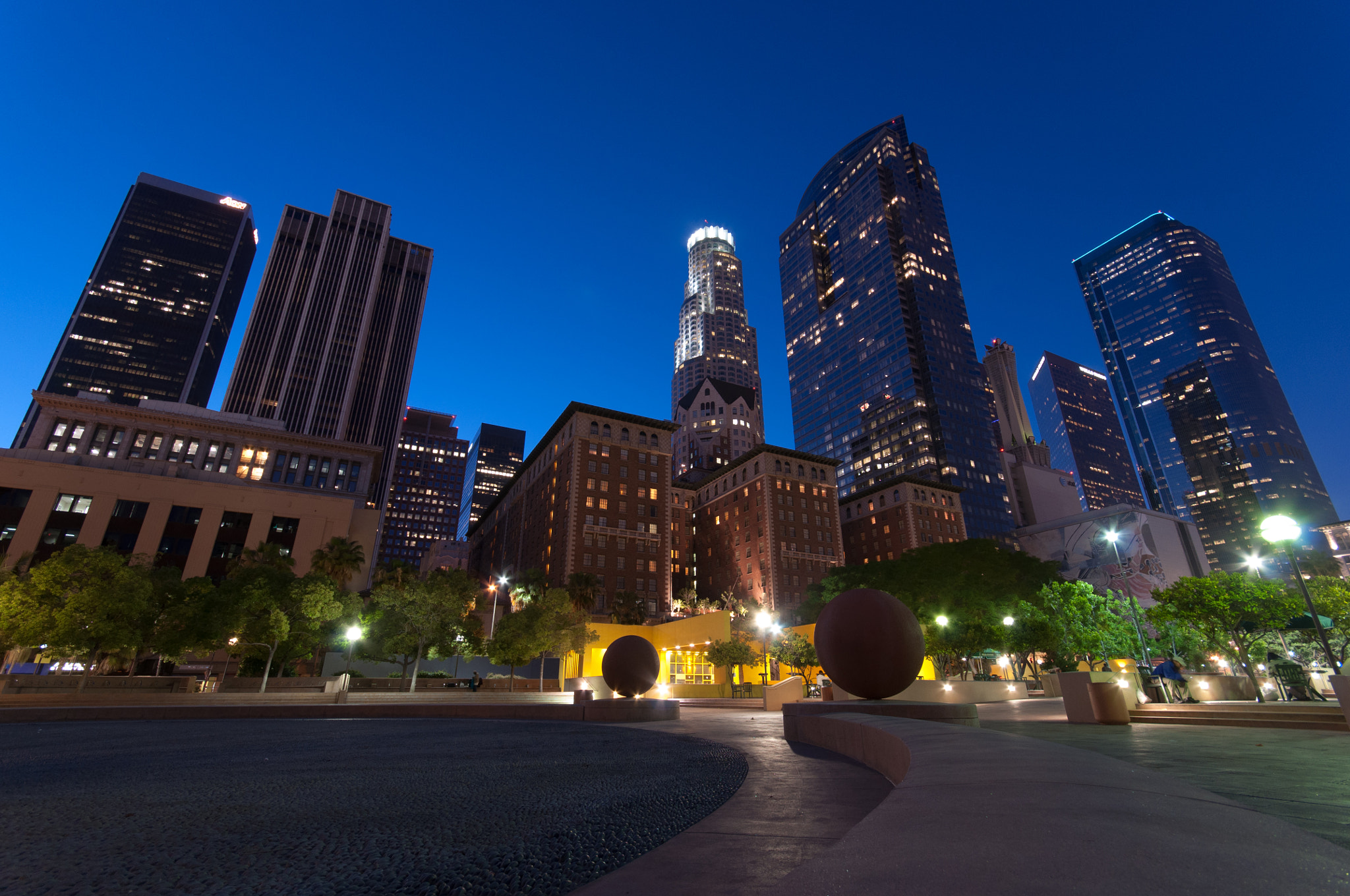Photograph Downtown L.A. by Andreas Tipotsch on 500px