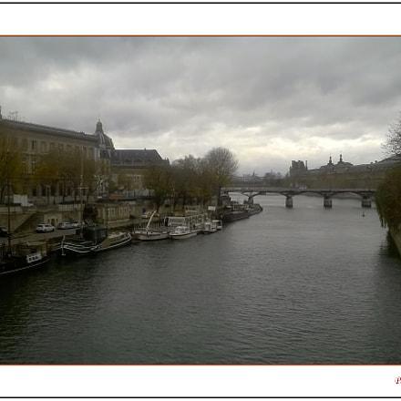 Paris pluvieux.