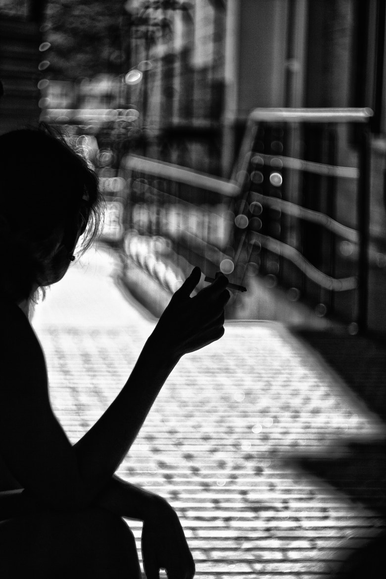 Photograph lonely women by Andrew  on 500px