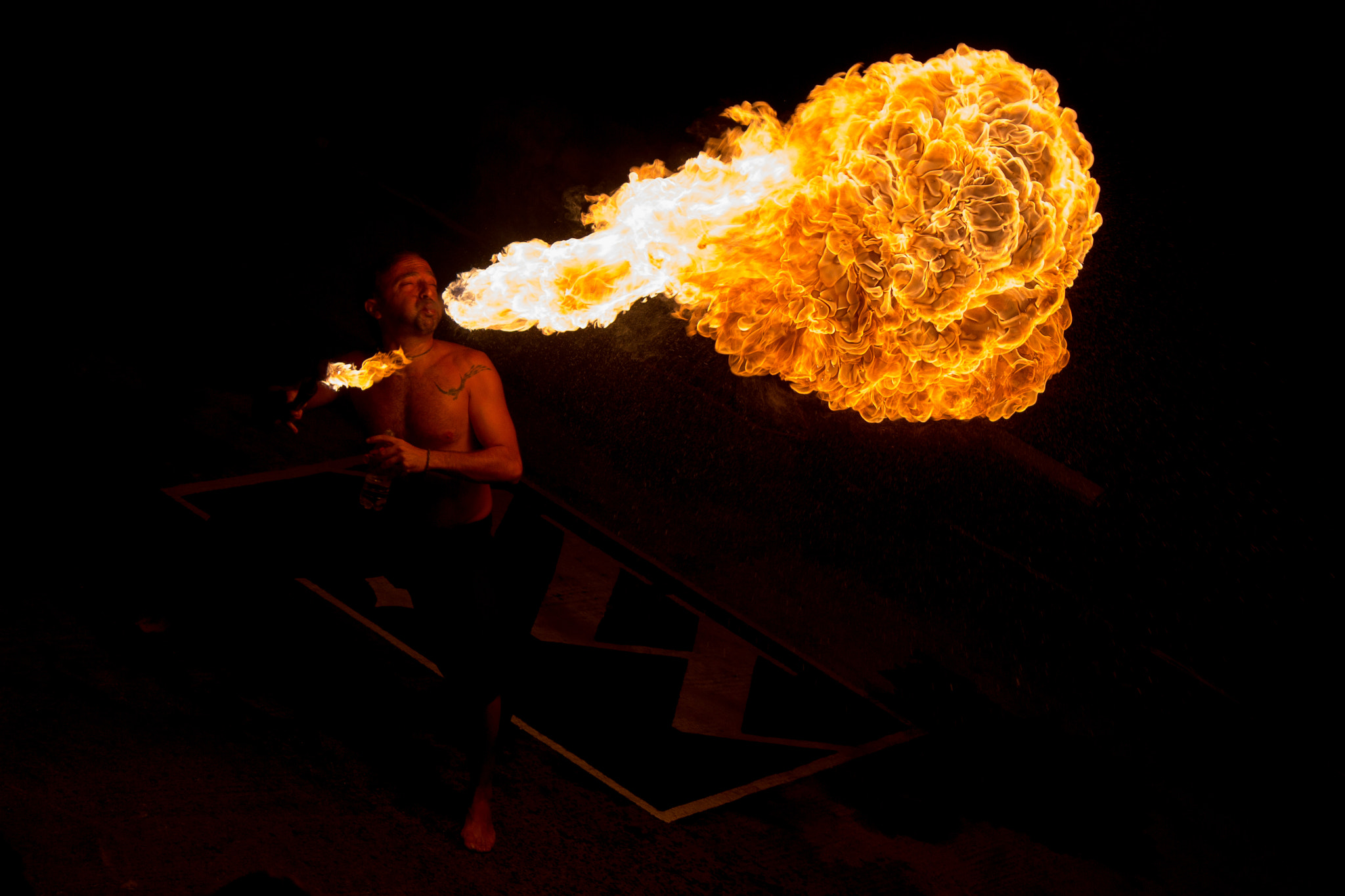 Photograph Fire Man by Salvatore Grigoli on 500px
