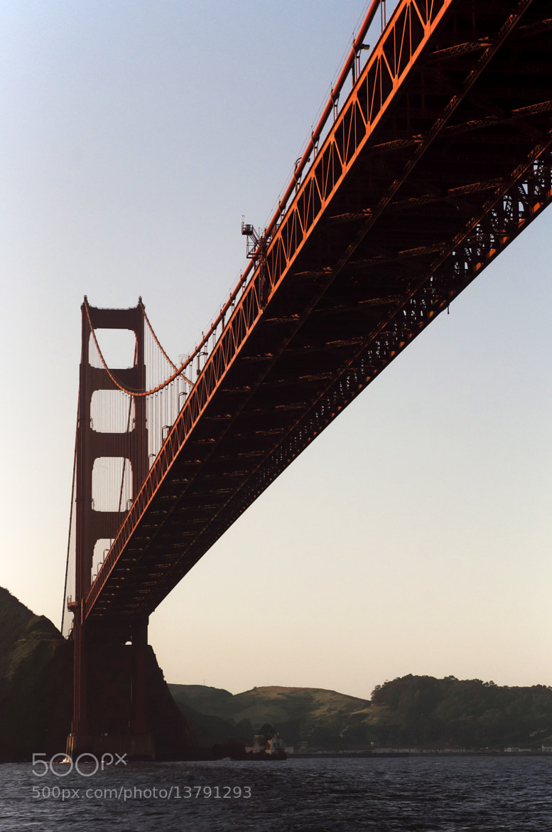 Photograph Golden Gate Bridge from bellow by Nadia Cassian on 500px