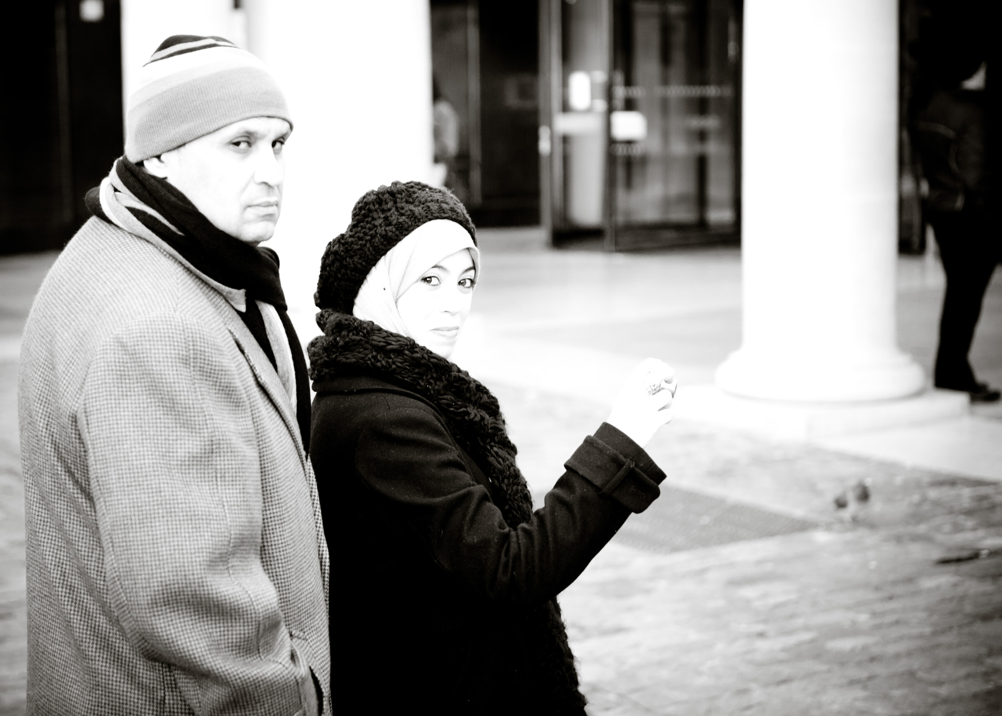 Photograph couple in winter by Pavlo Milan on 500px