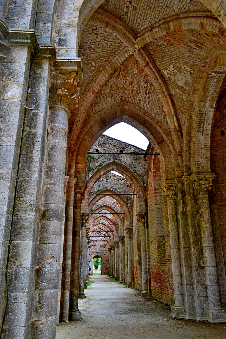 Photograph S.Galgano by Cristina Diomede on 500px