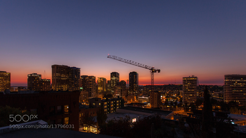 Photograph Seattle Twilight by Benjamin Peyronnin on 500px