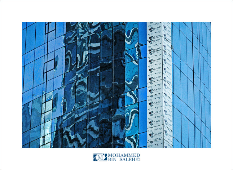 Photograph Abstraction Blue by Mohammed Bin_Saleh on 500px