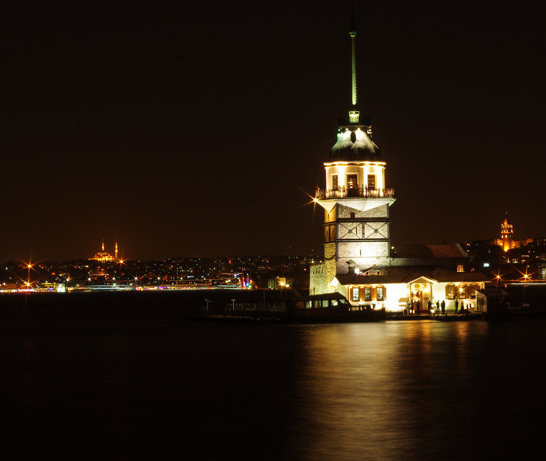 Photograph Maiden's Tower, Istanbul by Uğur Keskin on 500px