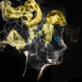 Photograph SmokePortrait by Lukas Bachschwell