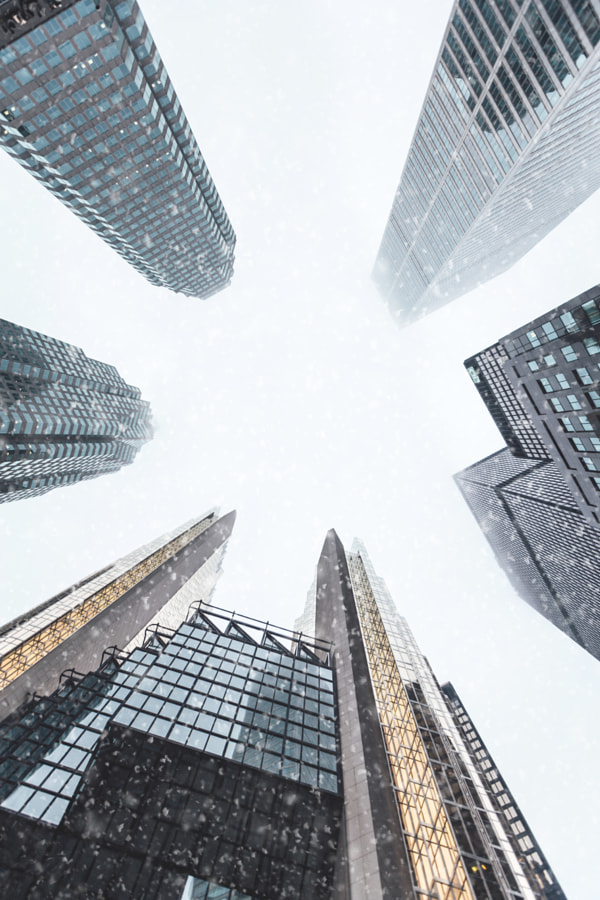 Financial District by Anthony Sotomayor on 500px.com