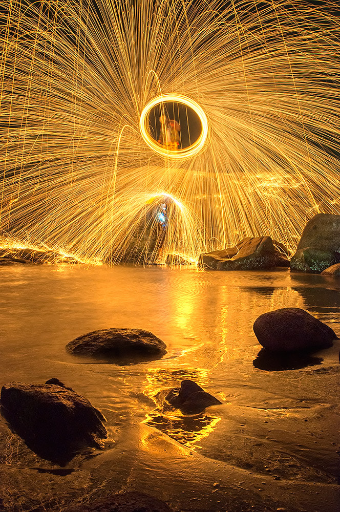 Photograph Gold Fire by pick chon on 500px