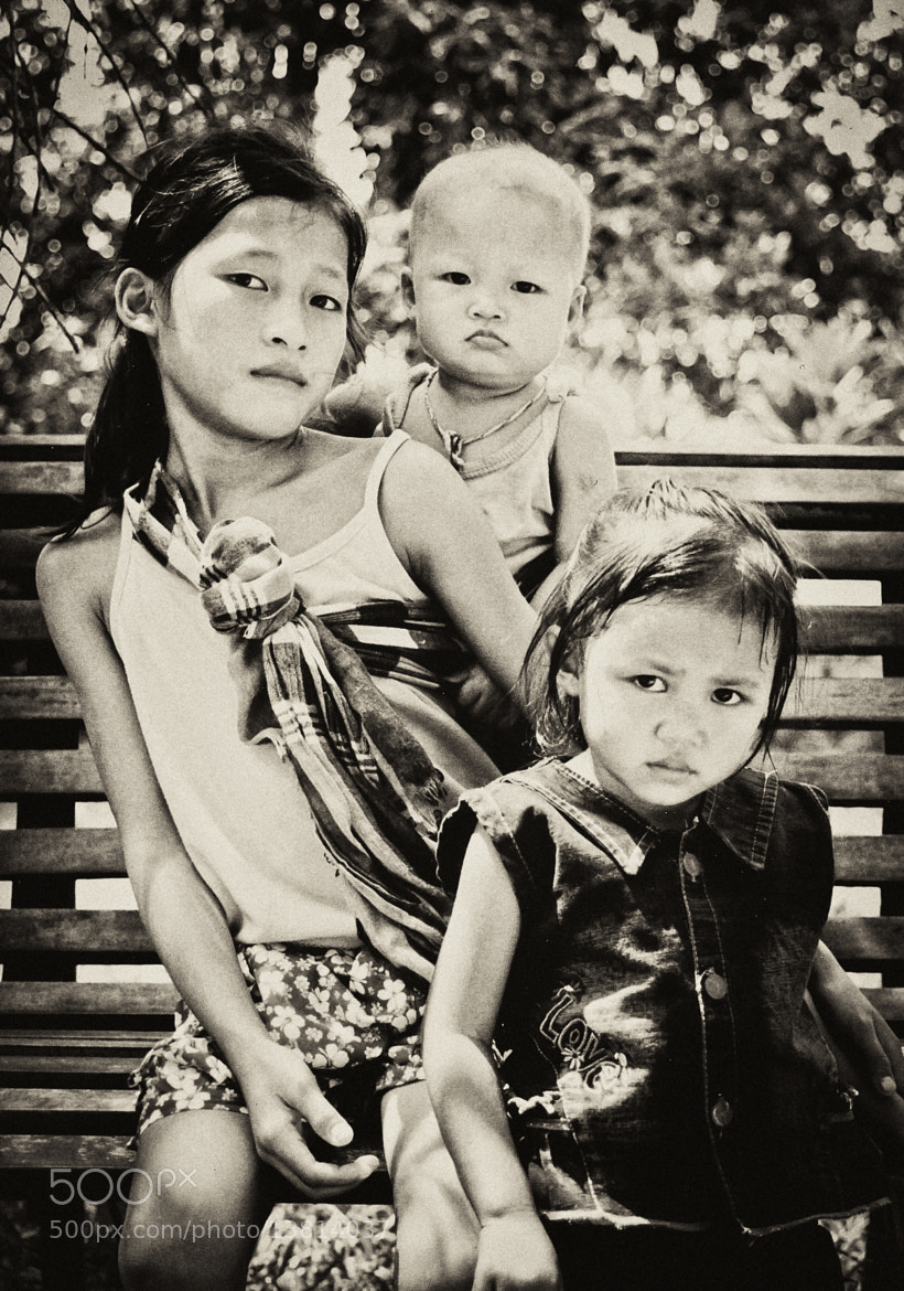 Photograph Children of Laos by Michael Vesia on 500px