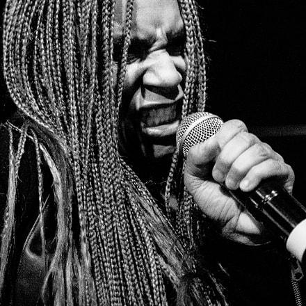 Teedra Moses live in Paris, 2016