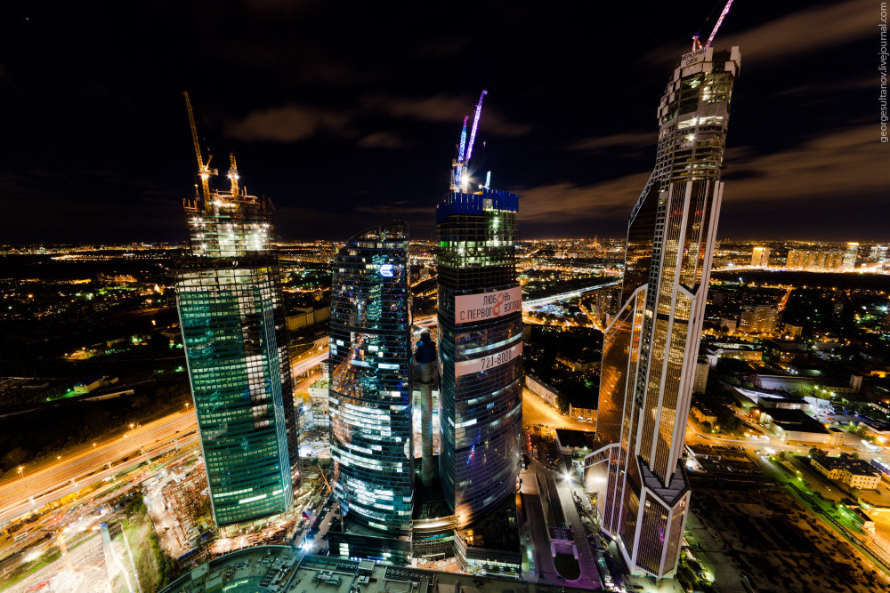 Photograph The City Giants by George Sultanov on 500px