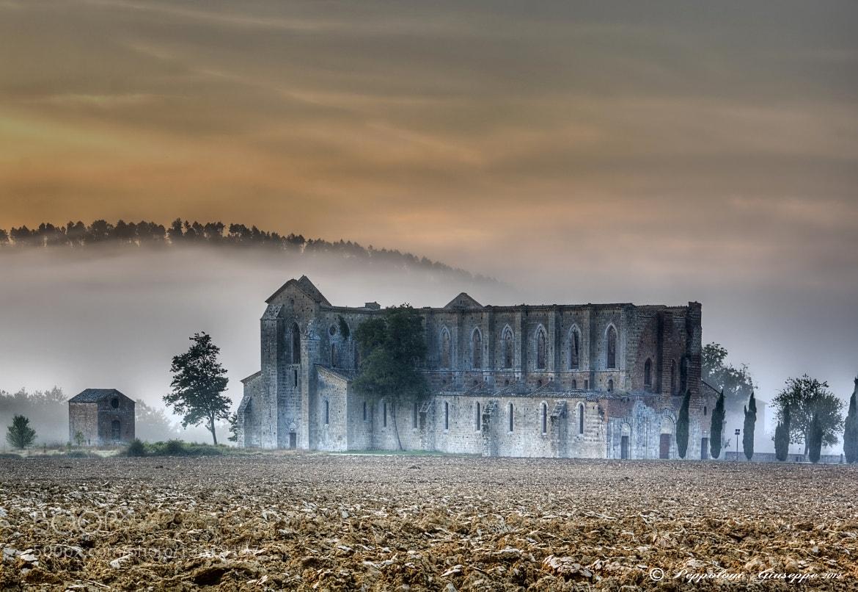 Photograph Abbazia di San Galgano (SI) by Giuseppe  Peppoloni on 500px
