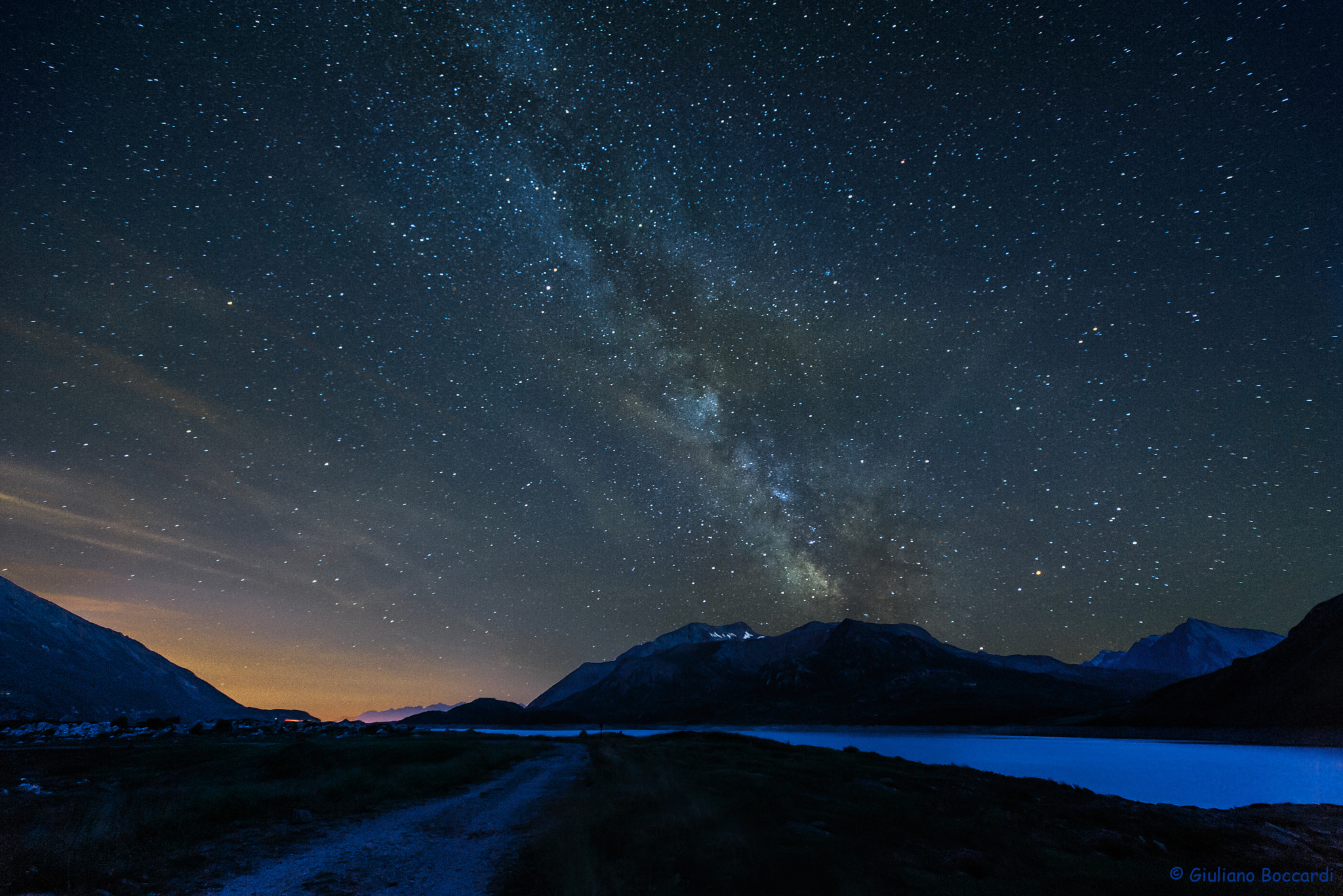 Photograph MilkyWay2 by Giuliano Boccardi on 500px