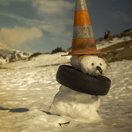 Dunce Snowman