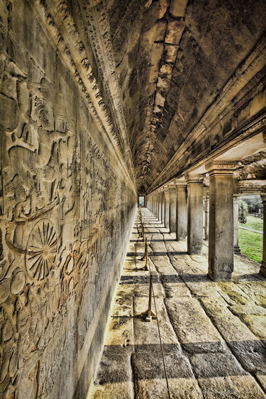 Photograph Angkor Wat East Gallery by Michel Latendresse on 500px
