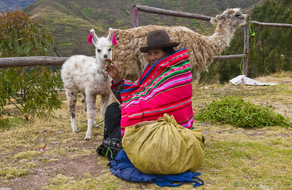 Photograph peruvian woman by Kobby Dagan on 500px