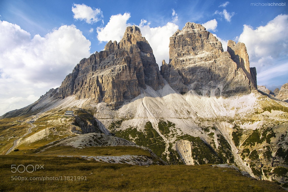 Photograph Tre Cime di Lavaredo by Michael Schnabl on 500px