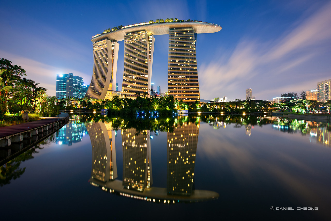 Photograph MBS Reflected by Daniel Cheong on 500px