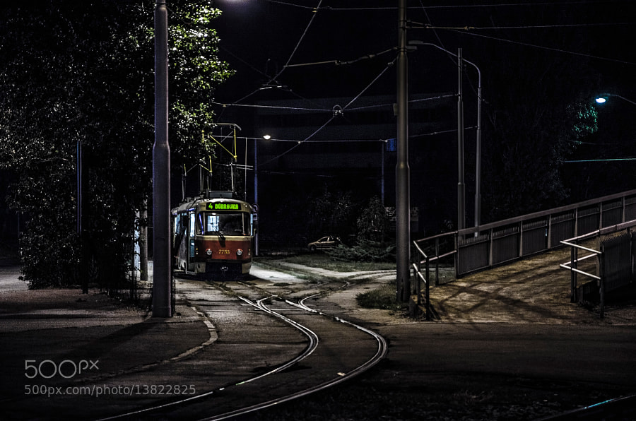 Photograph Tram 4 by David Bugyi on 500px