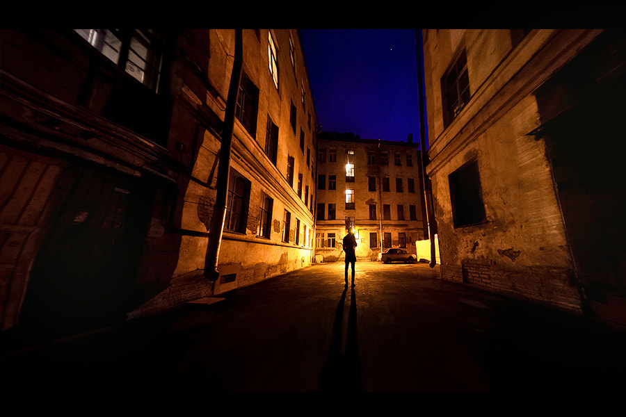 Photograph Night self-portrait by alexander kan on 500px