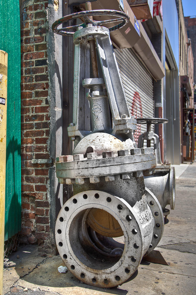 Photograph Valve in NYC street by Xavier FLYE SAINTE MARIE on 500px