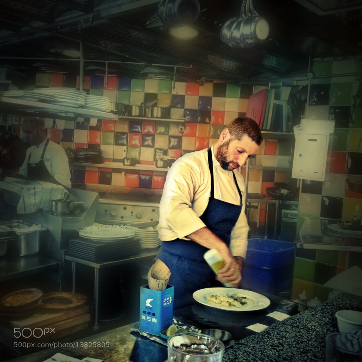 Photograph The Chef of MahneYuda - Asaf Granit by Ira Khrakovsky Dotan on 500px