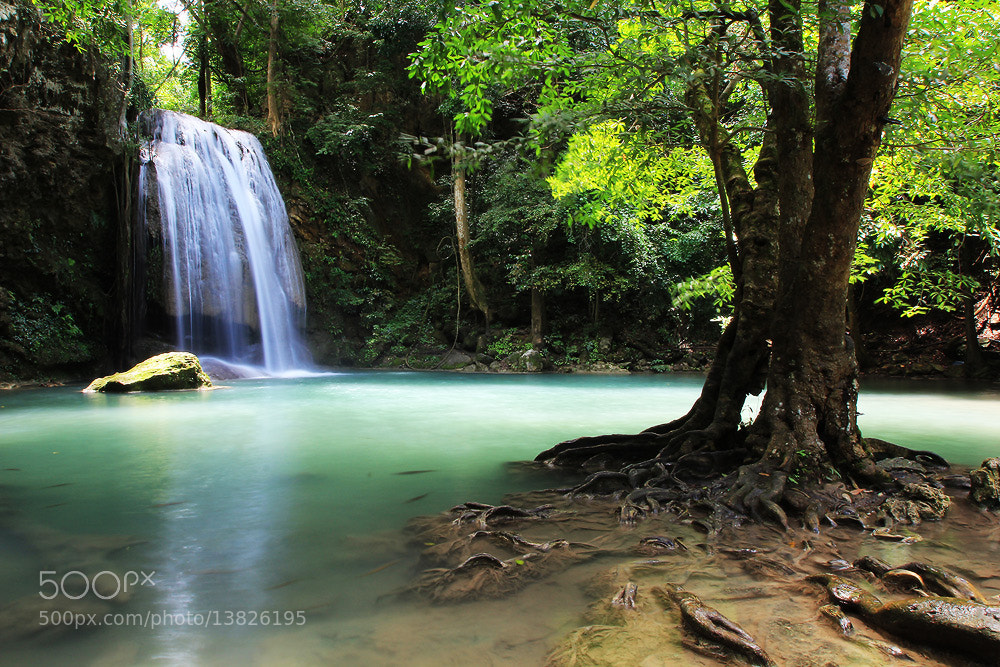 Photograph Erawan Waterfall by PooPack PpSs on 500px