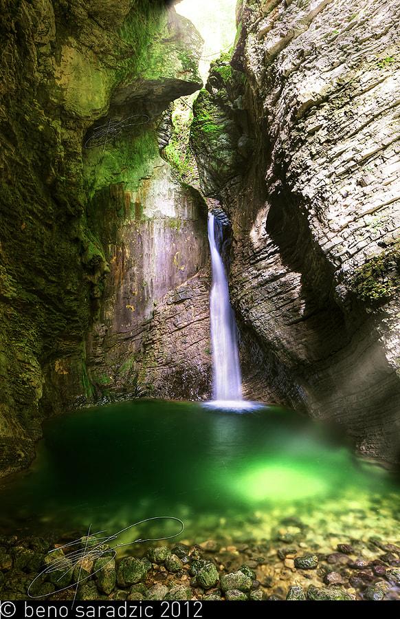 Kozjak Waterfall by Beno Saradzic on 500px