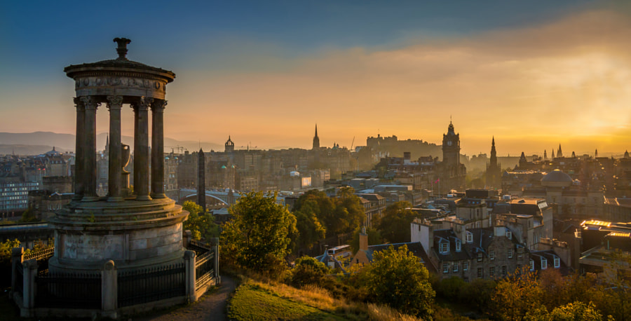 Dugald Stewart Monument in Edinburgh by Lubomir Mihalik on 500px.com
