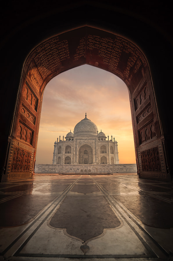 Taj Mahal by Mohammed Abdo on 500px.com