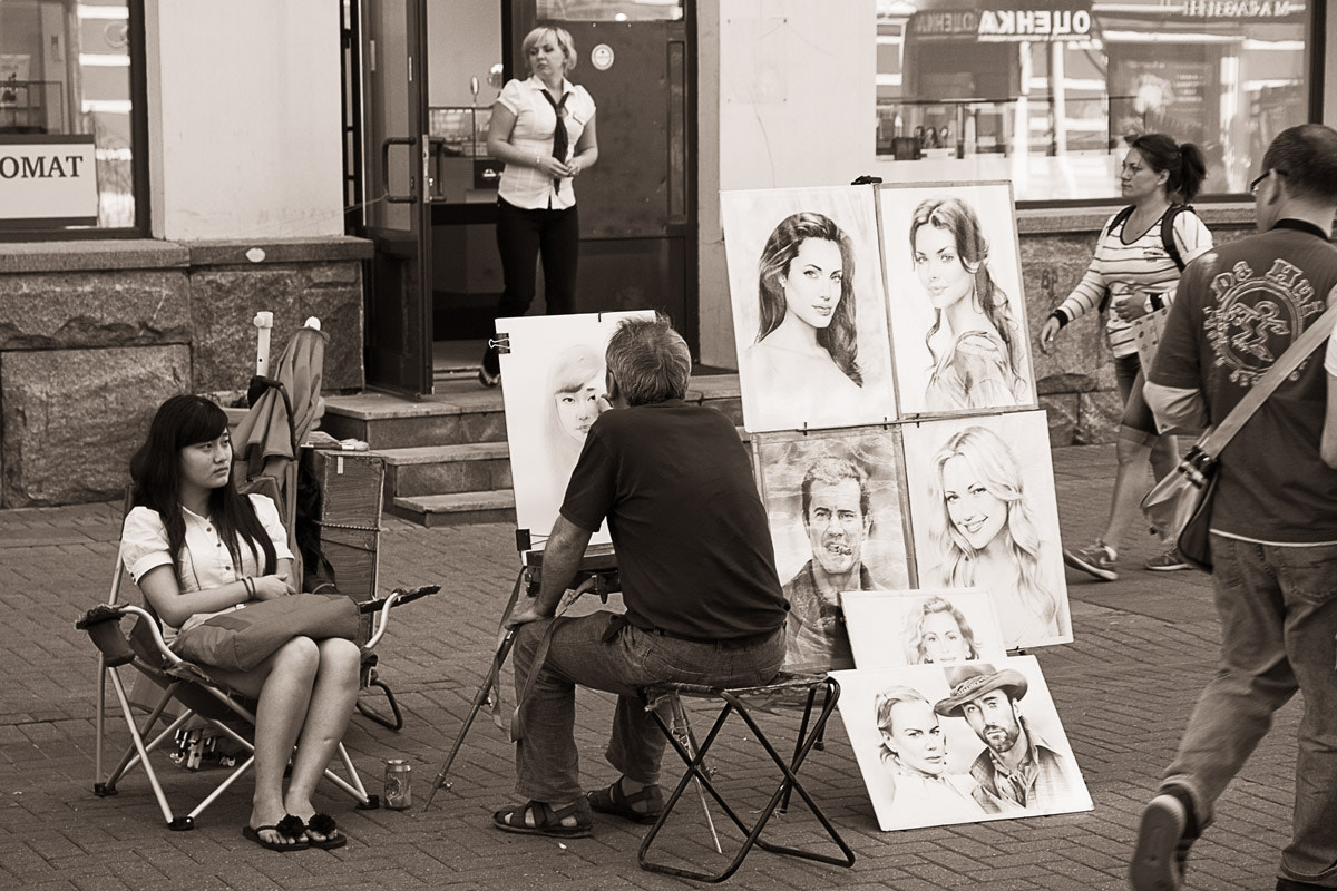 Photograph The Painter by Hilt  on 500px