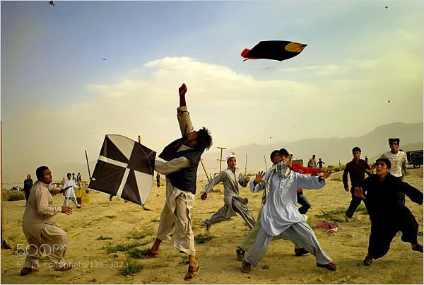 Photograph Kite Loverz . by Qasim afridi on 500px