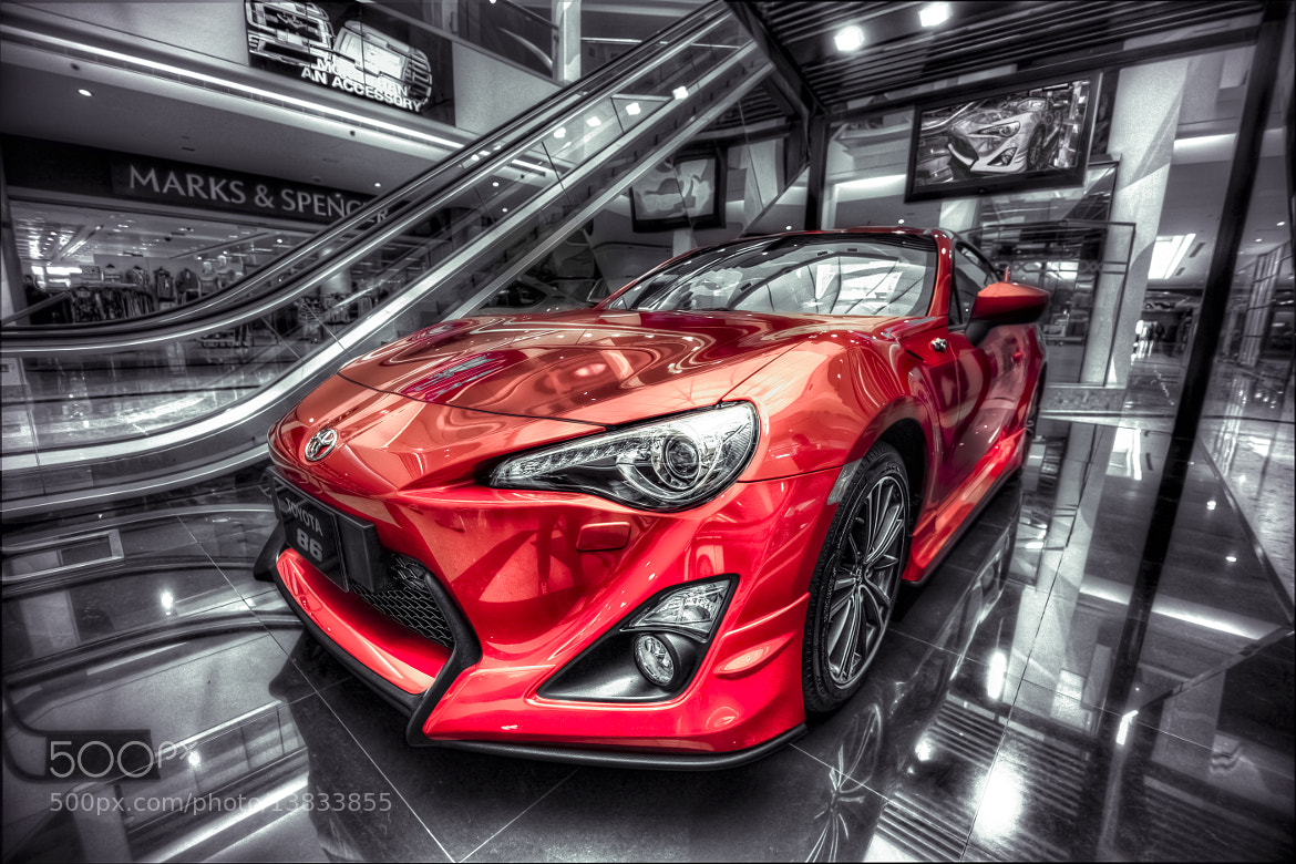 Photograph Toyota 86 by Bruce Noronha on 500px