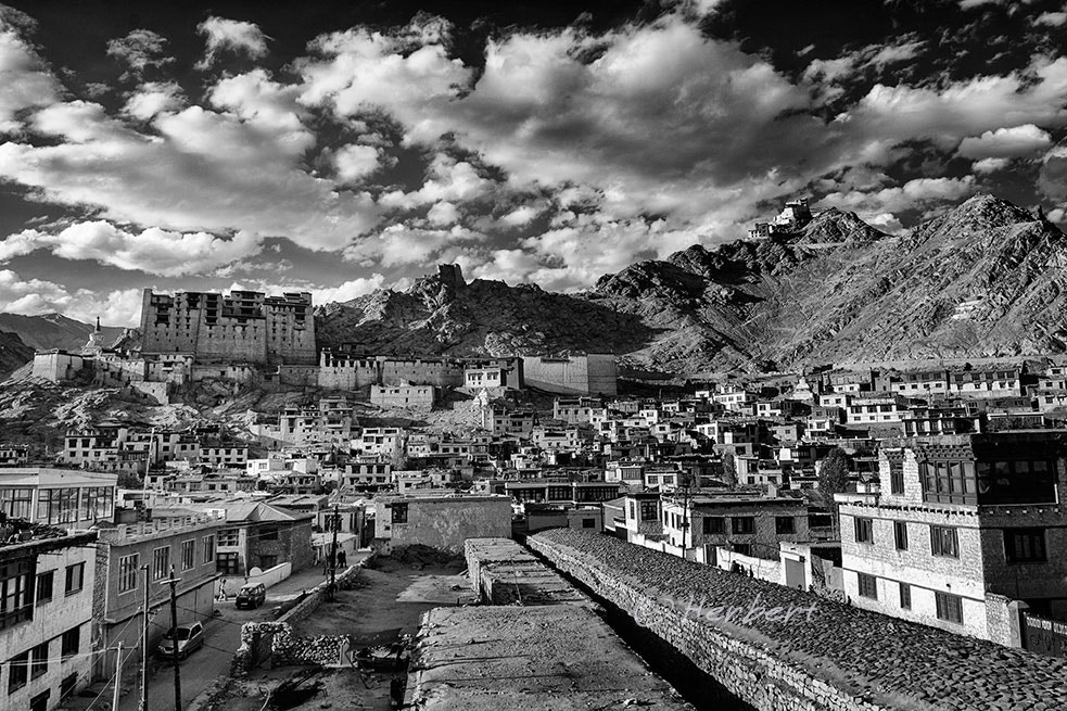 Photograph Tsemo Fort overlooking Leh by Herbert Wong on 500px
