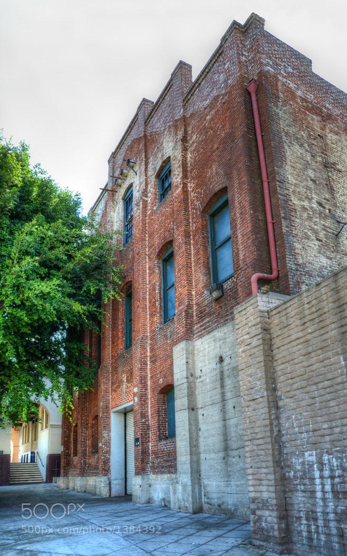 Photograph Old building located on Olvera Street in Downtown Los Angeles by Oracio Alvarado on 500px