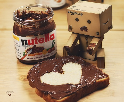 Photograph Danbo with nutella by Ahmed Diaa on 500px