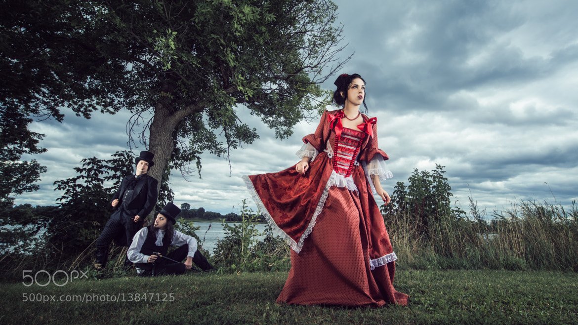 Photograph The girl in red by Benjamin Von Wong on 500px
