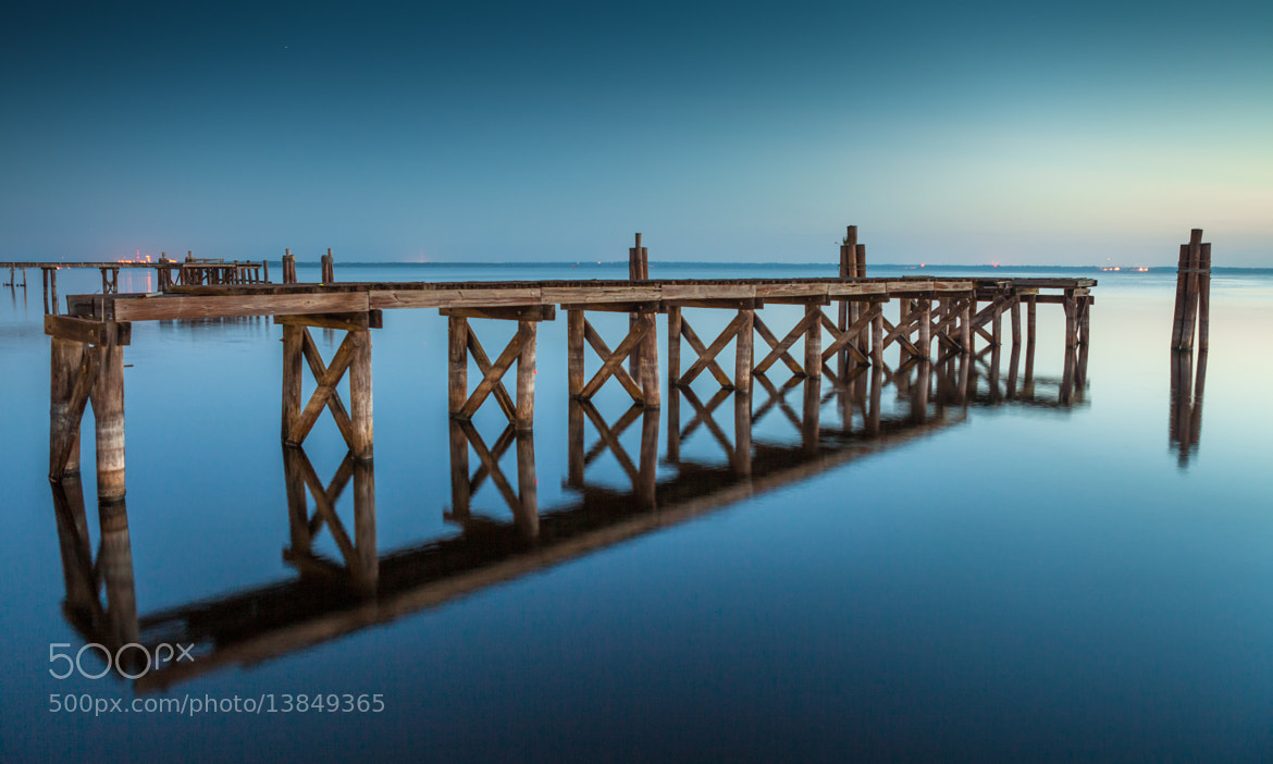 Photograph Old Bridge Reflection by George Bloise on 500px