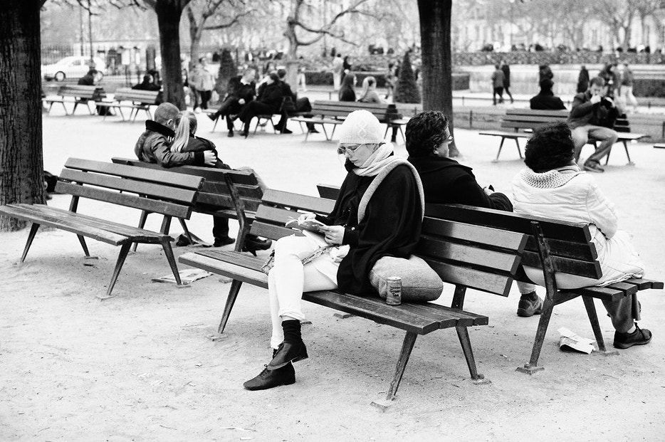 Photograph  Alone or at two on a bench by Laurent DUFOUR on 500px