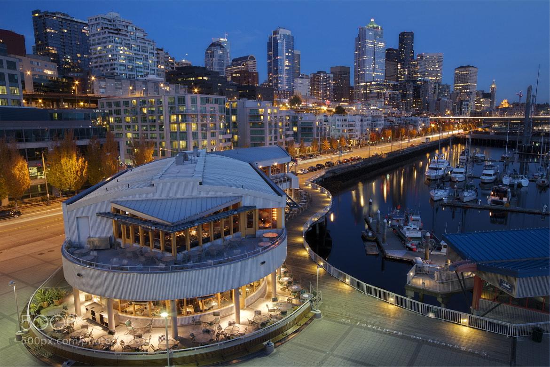 Photograph Seattle In Blue by Melissa Garrett on 500px