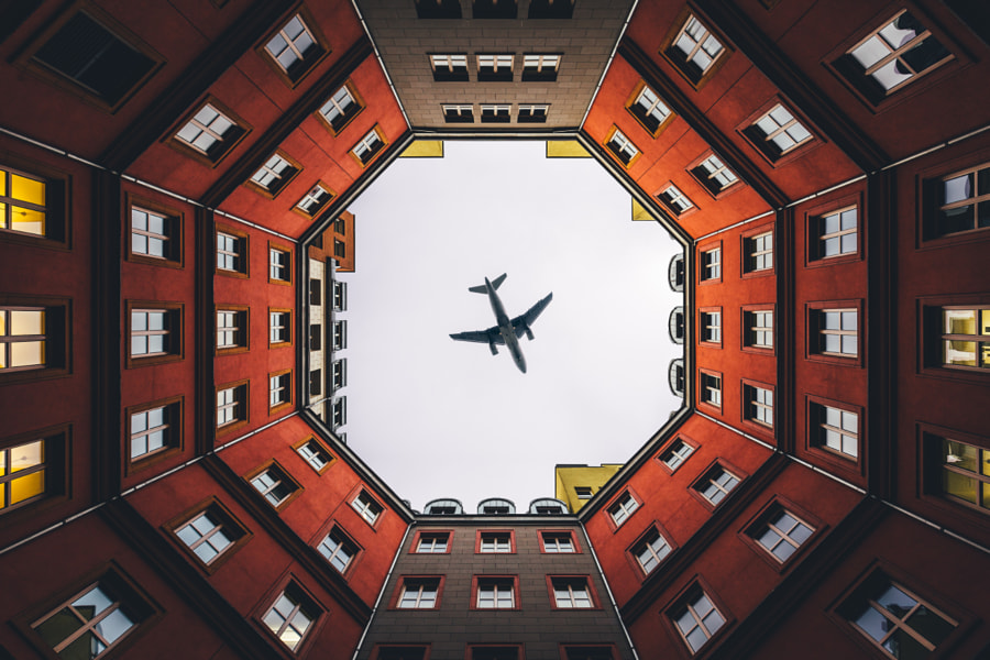Colors of Berlin (w/an airplane on top) 1/2 by Søren ° s1000 on 500px.com