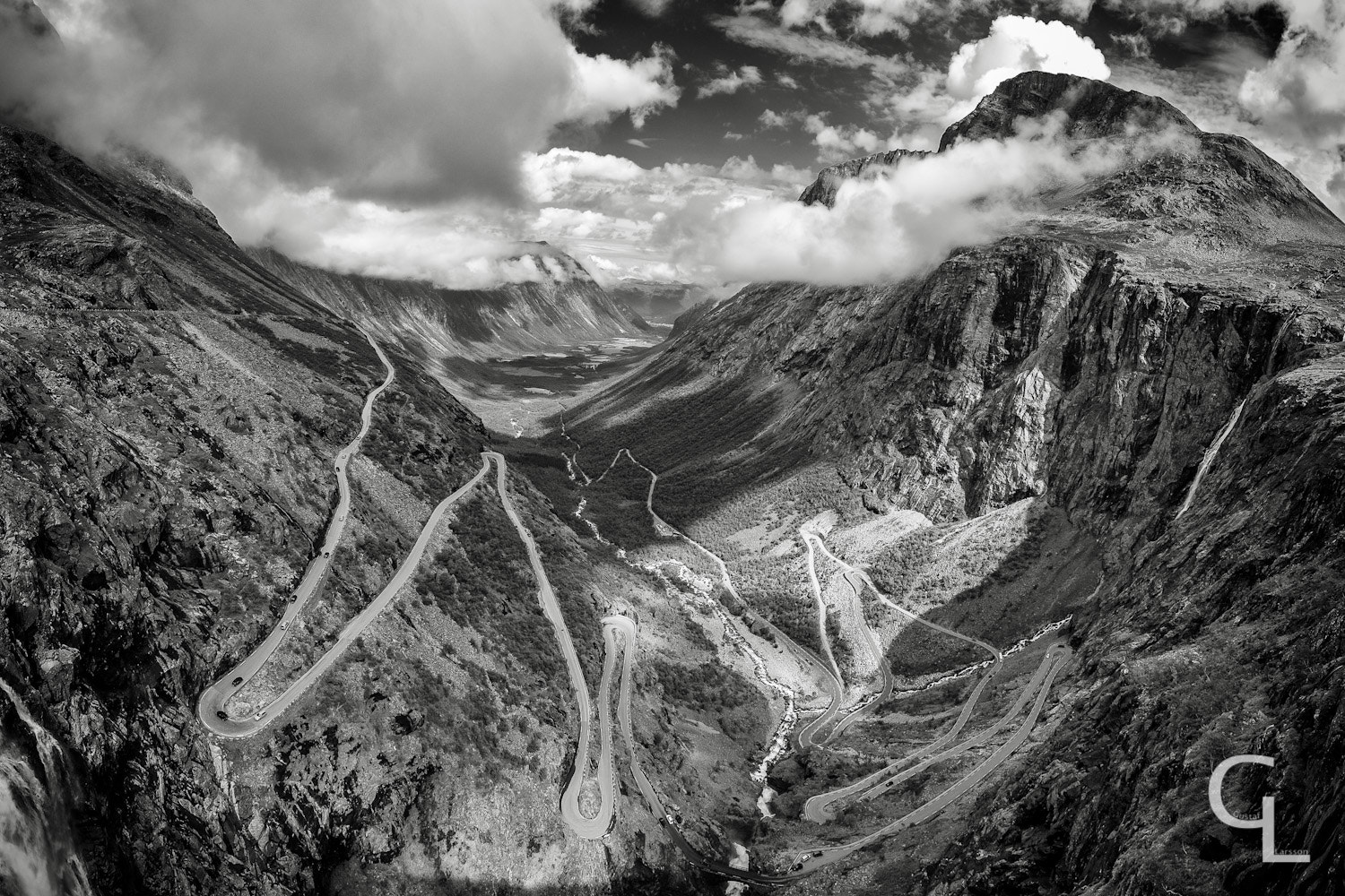 Photograph Winding Road B/W by Gustaf Larsson on 500px