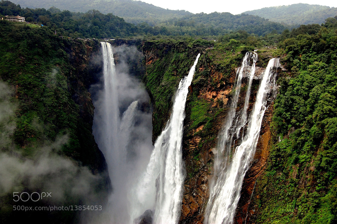 Photograph Jog Falls by Ramesh Hegde on 500px