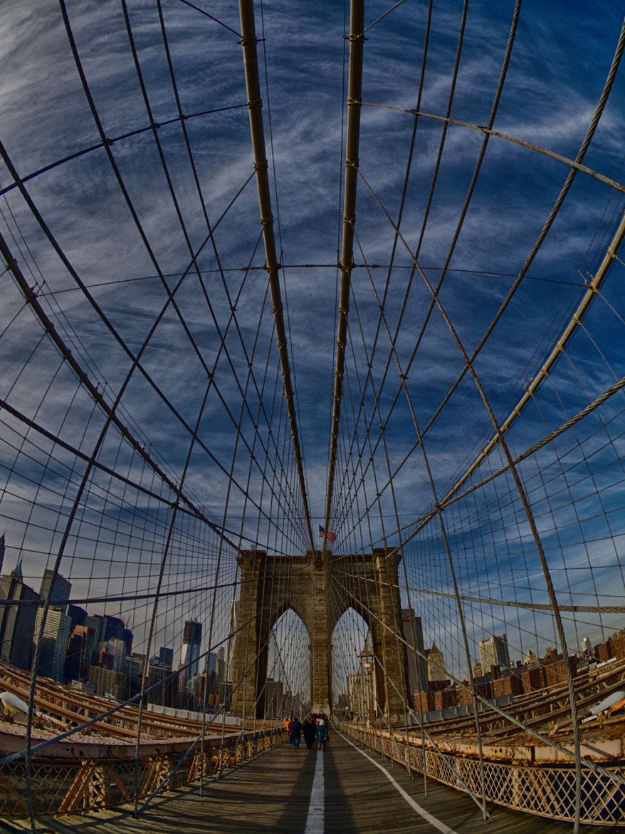 Photograph Crowded on the Brooklyn Bridge by Ashmieke . on 500px