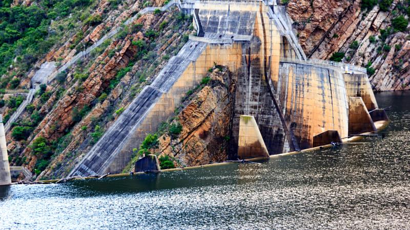 Kouga dam water level 2015-11-21